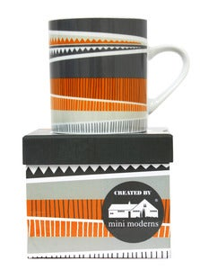 Image of Backgammon Porcelain Mug - Barabino