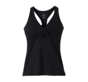 Image of prAna Kira Yoga top- Classic black - on sale