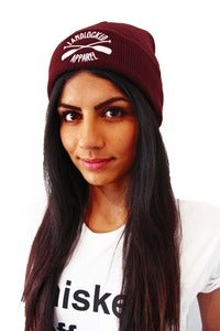 Image of Easy Sailor Beanie - Burgundy