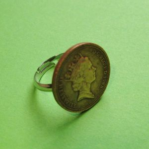 Image of Lucky Penny Ring (Various Designs)
