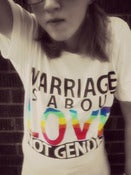 Image of Marriage is about LOVE tee