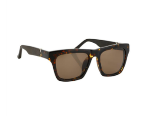 Image of NEW Linda Farrow X The Row Tortoise Shell Square Sunglasses