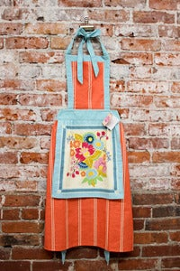 Image of Folk Blossom Full Apron