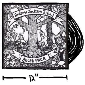 Image of AJJ & Ghost Mice Split Vinyl