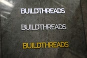 Image of Build Threads sticker - Triple pack