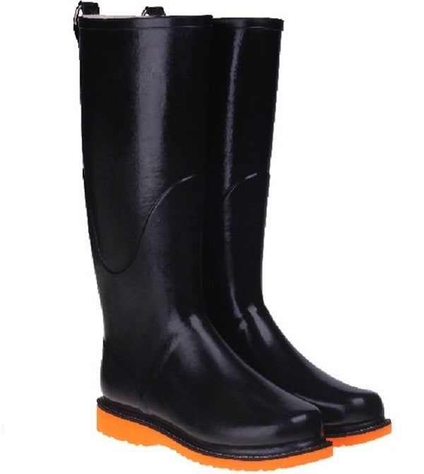 Image of NEW! Ilse Jacobsen Rubber Boots/Orange Sole