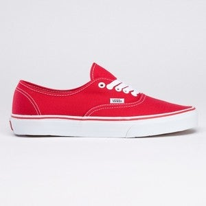 Image of VANS authentic red