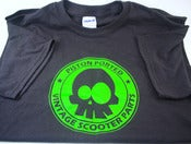 Image of Piston Ported Mr. Yuk Cockeyed Skull T