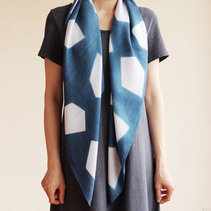 Image of Bamboo Scarf - Indigo