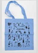 Image of Sports Shopper Tote Bag Blue