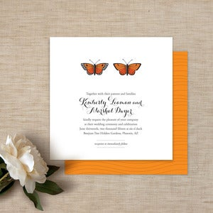 Image of Butterflies Wedding Invitations