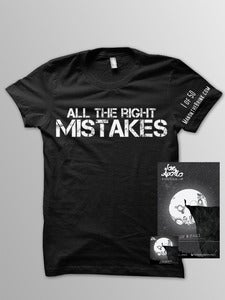 "Image of Autographed Limited Edition ""All the Right Mistakes"" Package"