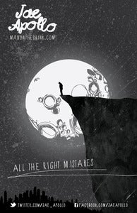 "Image of ""All the Right Mistakes"" 11x17 inch Poster"