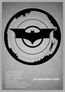 Image of The Dark Knight Rises poster