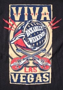 Image of Viva Las Vegas Rockbilly Weekend Microphone Tee