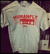 Image of Humanfly - grey t-shirt