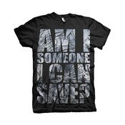 Image of Save Tee (Black and White)