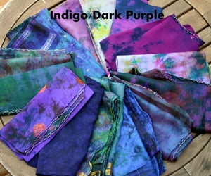 Image of Reclaimed Sari Silk Scarf