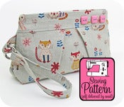 Image of Pleated Wristlet PDF Sewing Pattern