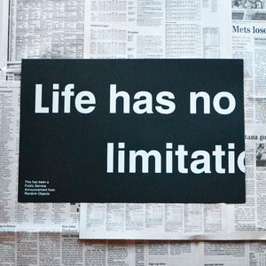 Image of No Limitations Print