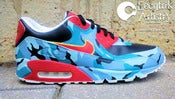 "Image of ""Camouflage Life"" Custom Air Max 90 (w. T-shirt)"