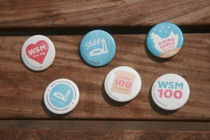 Image of West Side Market Centennial Button Pack