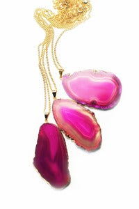 Image of DELIGHT Agate Pendant