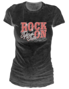 Image of Women's &quot;Rock On&quot; T-Shirt