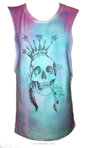 "Image of ""She's Long Gone"" MIDNIGHT OMBRE TIE-DYE T-Shirt"