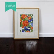 Image of Rose Floral 1 - gouache original