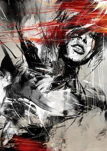Image of 'FRIES TO GO' by RUSS MILLS printers proof