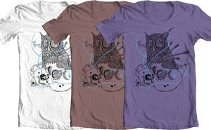 Image of night owl tee shirt
