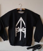 Image of TBM RUNE CREWNECK BLACK