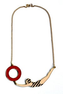 Image of SWIMMER NECKLACE
