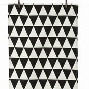 Image of Triangle tea towel by Ferm Living