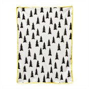 Image of Yellow edge baby blanket by Fine Little Day