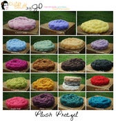 Image of All New Thin Plush Pretzel *26 colors in stock*