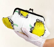 Image of Sunflowers Fifi clutch