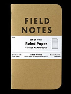 "Image of Field Notes ""RULED PAPER"" FN-02"