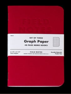 "Image of Field Notes ""Red Blooded"" 3-Pack"