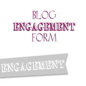 Image of Engagement Blog Form