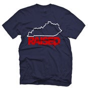 "Image of KY Raised ""Limited Edition"" in Navy, White & Red"
