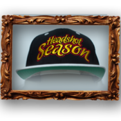 Image of Headshot Season Snapback [ Black ]
