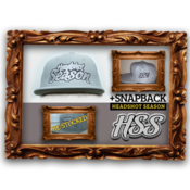 Image of Headshot Season Snapback [ Grey ]