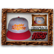 Image of *LIMITED EDITION* Headshot Season Snapback [ Red/Yellow/Grey]