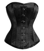 Image of Black Satin Overbust