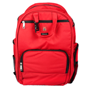 Image of Depot Diaper Bag in Red
