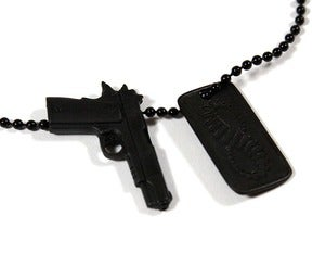 Image of SPECIAL OPS NECKLACE - BLACK