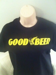 Image of GOOD BEER / GOODYEAR LOGO PARODY T-SHIRT
