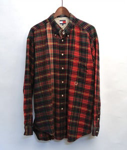 Image of Tommy hilfiger multicolor plaid shirt (XL)
